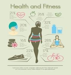 smrsati fit infographic2 vector image