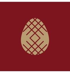 The Easter icon Easter egg symbol UI Web Logo vector image