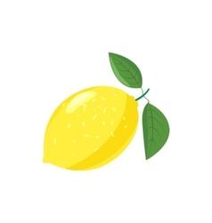Yellow lemon icon cartoon style vector image vector image