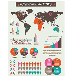 Infograph vector image