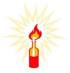 Molotov vector image