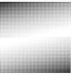 Black and white dotted background vector