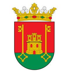 Coat arms rioja alavesa in basque country vector