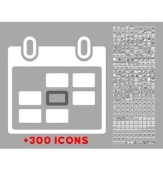 Organizer Date Icon vector