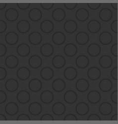 Seamless dark pattern with grey polka dots vector