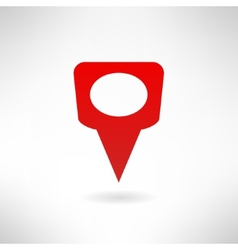 Map marker icon made in modern flat design vector image vector image