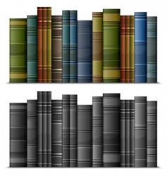 vintage books vector image vector image