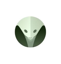 Cobra Head is a unique of modern vector image vector image