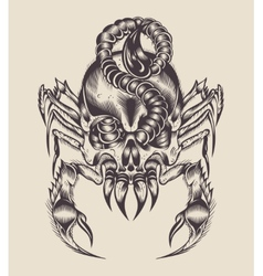 A monster scorpion vector