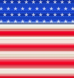 Abstract American Flag for Independence Day vector image