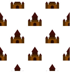 Ancient palace pattern seamless vector