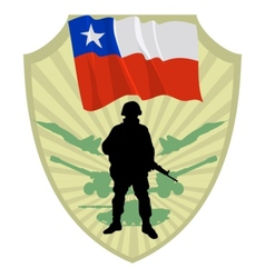 Army of Chile vector