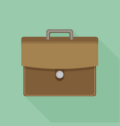 Briefcase flat icon briefcase flat icon vector