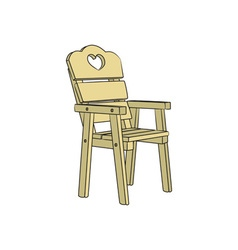 Chair-3D-380x400 vector image