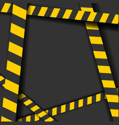 Detailed of a industrial danger lines background vector