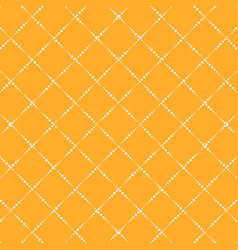 Lattice yellow simple seamless pattern vector
