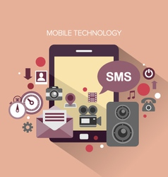 Mobile Technology vector