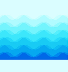 abstract background of blue sea waves vector image vector image