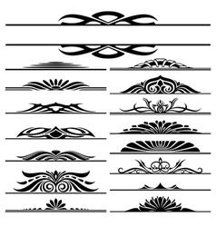 design elements frames vector image