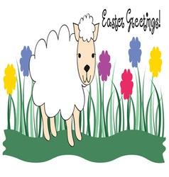 Easter Greetings vector