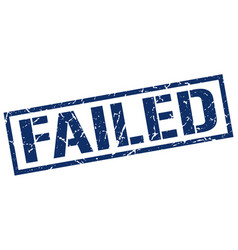 Failed stamp vector