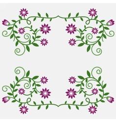 flowers04 vector image