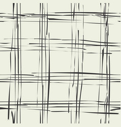 grunge tartan background vector image