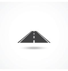 Road icon vector