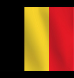 flag of belgium - vector image