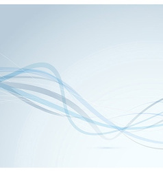 Transparent speed waves background template vector image vector image