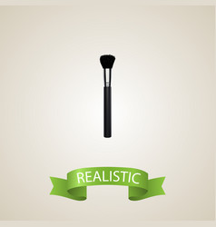 realistic beauty accessory element vector image