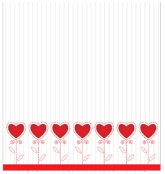 Abstract background Valentine day vector