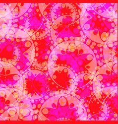 Abstract pastel pattern of purple gears and vector