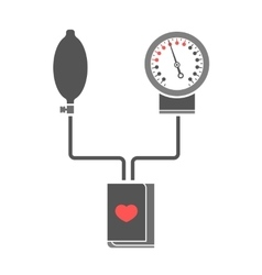 Blood pressure measuring vector