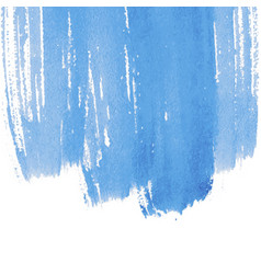 blue abstract watercolor background with space vector image
