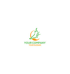 Foot and ankle care logo design vector