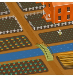 Harvest and Farm vector