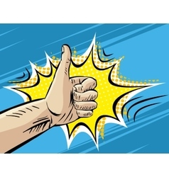 Like Well Fine Hitchhiking journey Gesture Pop vector
