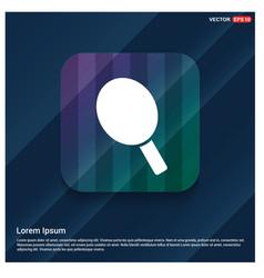 Racket icon vector
