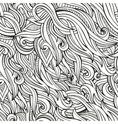 seamless abstract nature pattern vector image