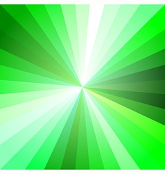 Green Light Ray Abstract Background vector image