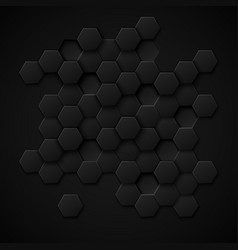Carbon technology abstract background vector image