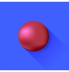 Red Ball vector image vector image
