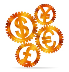 Currency concept vector image vector image
