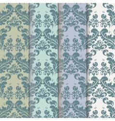 Vintage Royal Classic pattern set vector image