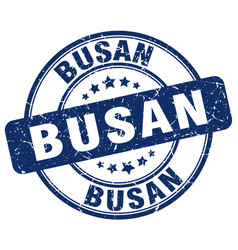 Busan stamp vector