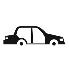 car without some parts icon simple style vector image