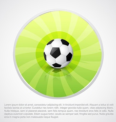football design with space for your text vector image
