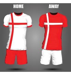 Football soccer jersey vector