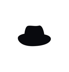 isolated fedora icon panama element can be vector image